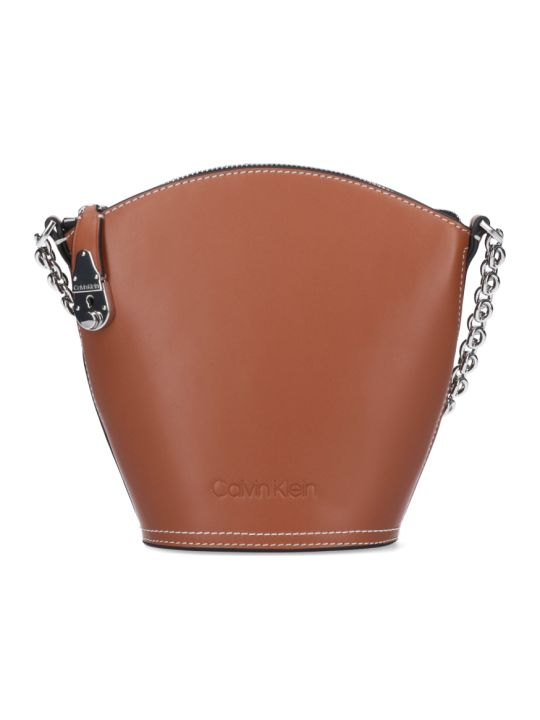 Calvin Klein Lock Bucket Bag