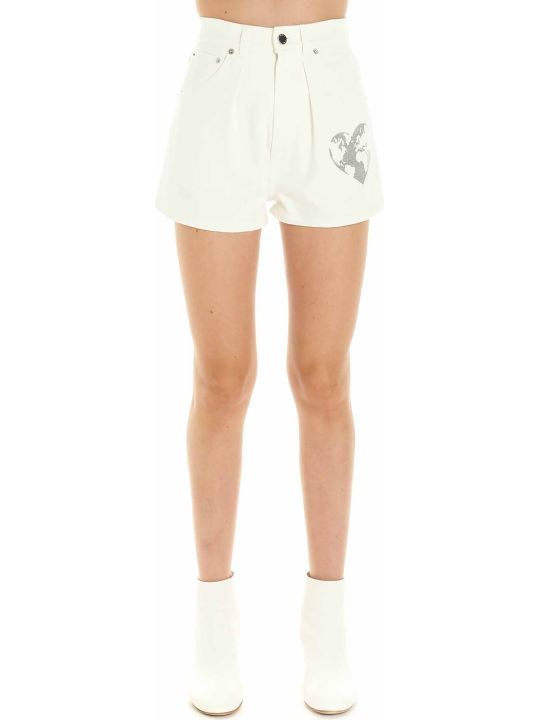 Alberta Ferretti 'heart Power' Shorts