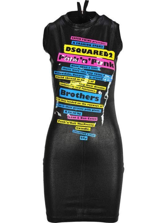 Dsquared2 D Squared Dress Tape Zip Back