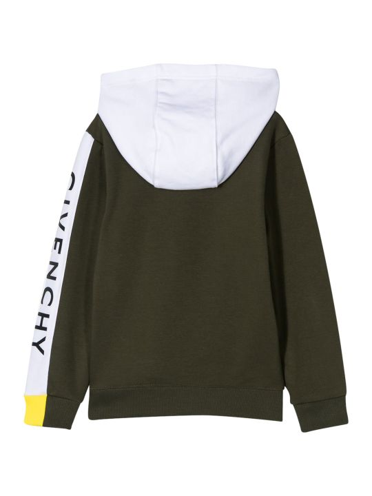 Givenchy Kids Side Band Sweatshirt