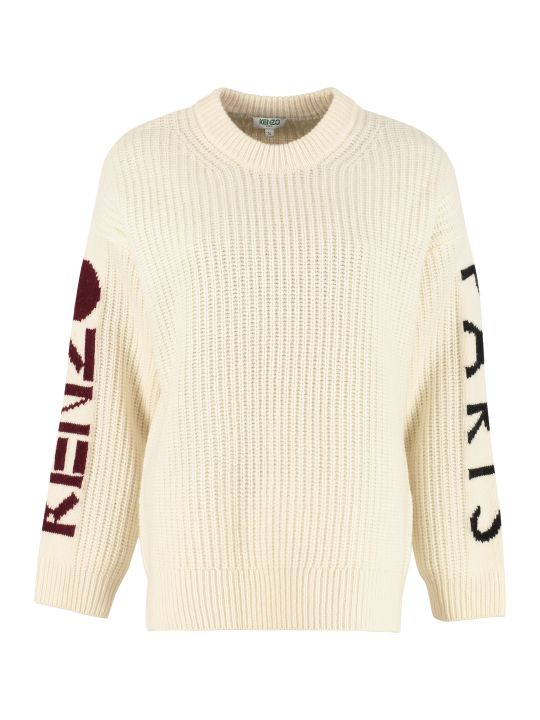Kenzo Long-sleeved Crew-neck Sweater