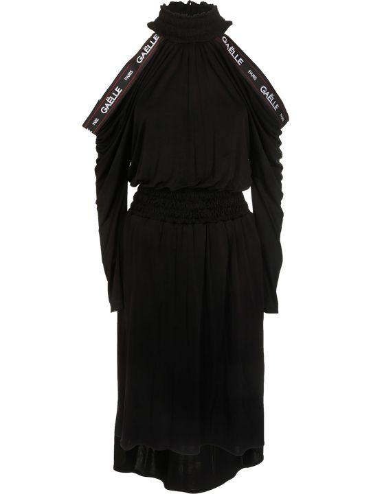 Gaelle Bonheur Cold Shoulder Flared Dress