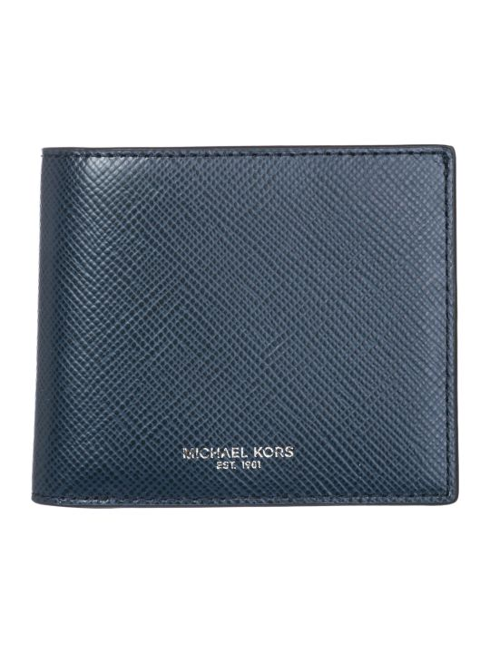 Michael Kors  Genuine Leather Wallet Credit Card Bifold Harrison