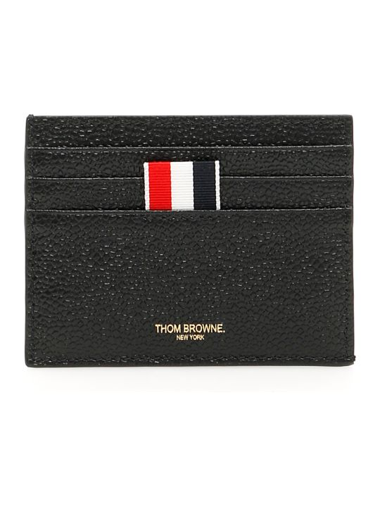 Thom Browne Grain Leather Cardholder