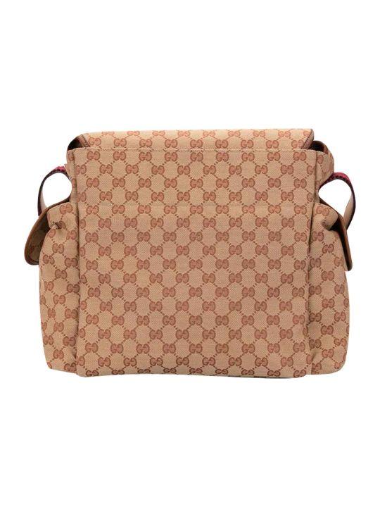 Gucci Beige Briefcase