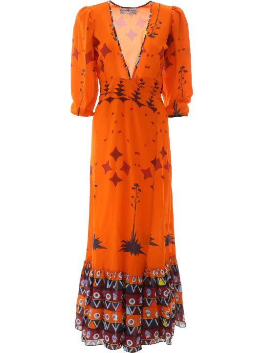 Jessie Western Printed Long Dress