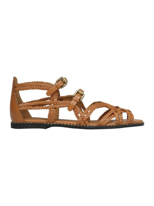 See by Chloé Woven Strappy Sandals