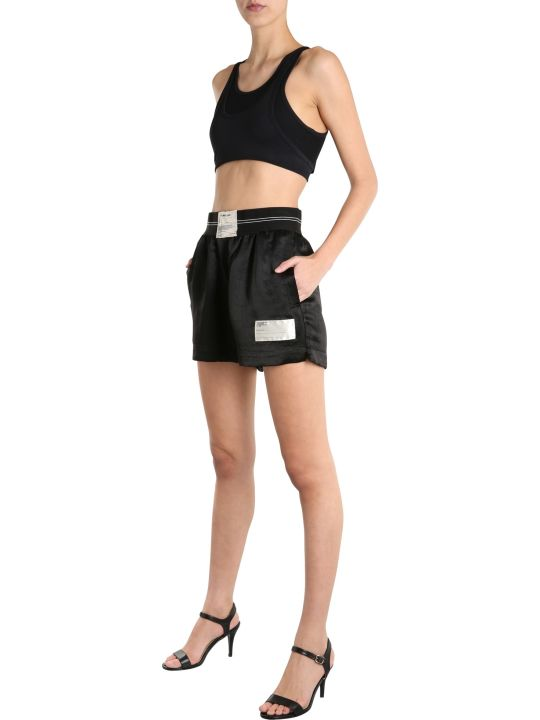 Helmut Lang Shorts With Patch