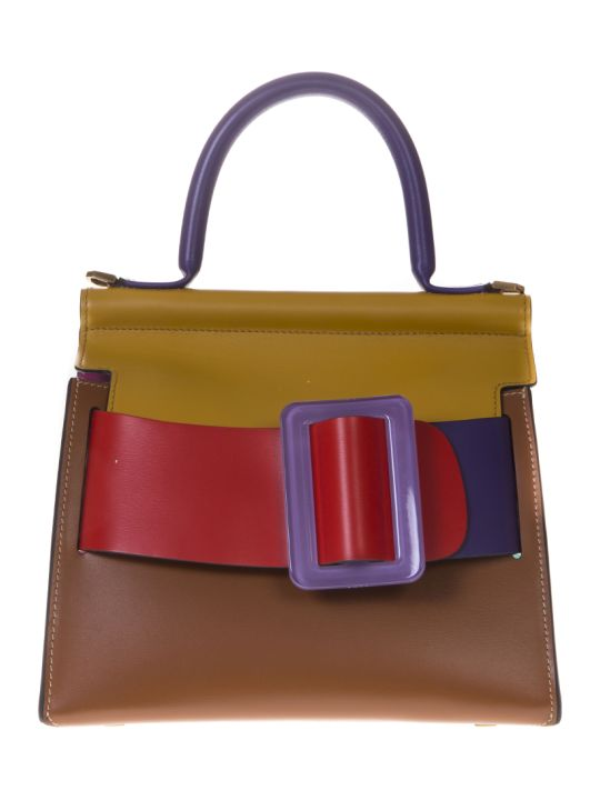 BOYY Karl 24 Multicolor Leather Hand Bag