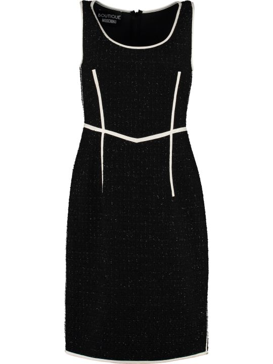 Boutique Moschino Virgin Wool Sheath Dress