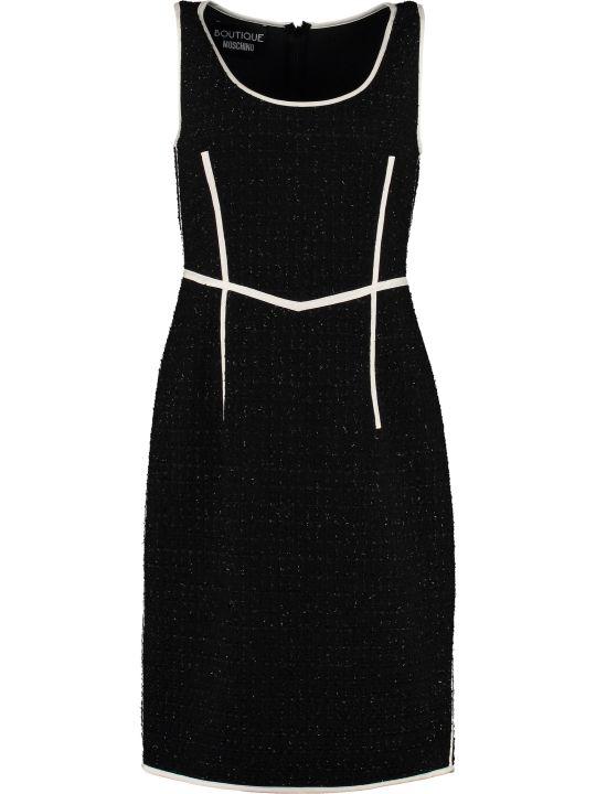 Boutique Moschino Virgin Wool Sheath Dress