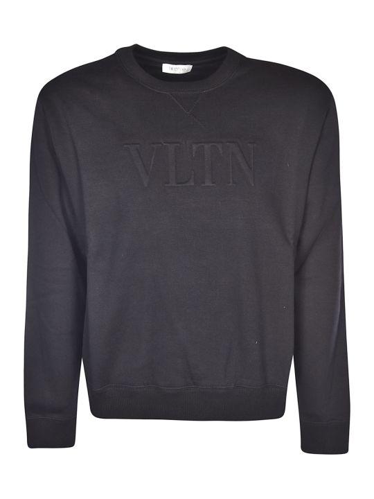 Valentino Vltn Embossed Sweatshirt
