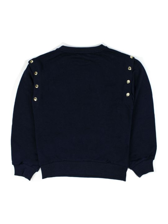 Chloé Blue Cotton Sweatshirt