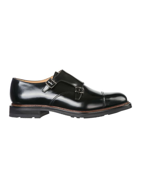 Church's  Classic Leather Formal Shoes Slip On Monk Strap Wadebridge