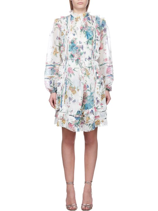Zimmermann Floral Printed Dress