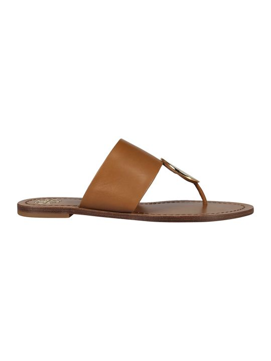 Tory Burch Patos Disc Flat Sandals