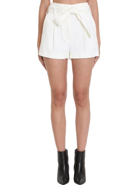 3.1 Phillip Lim Shorts In White Polyester