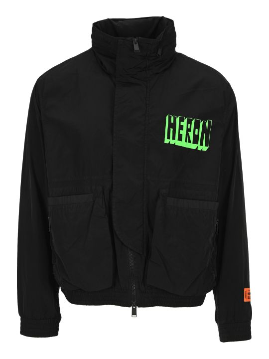 HERON PRESTON Logo Print Jacket