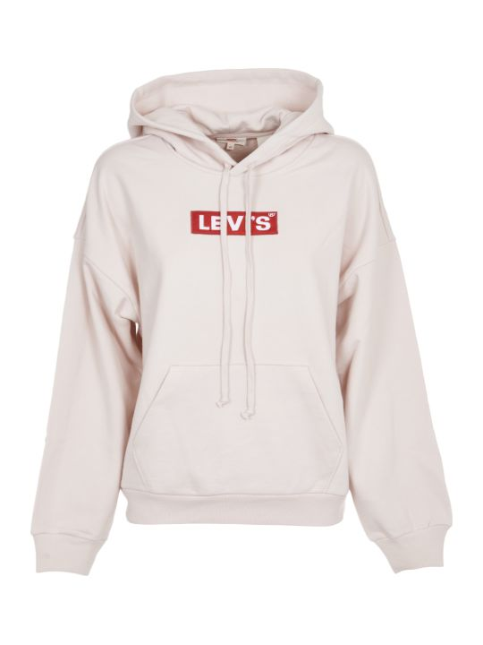 Levi's Pink Hoodie With Logo