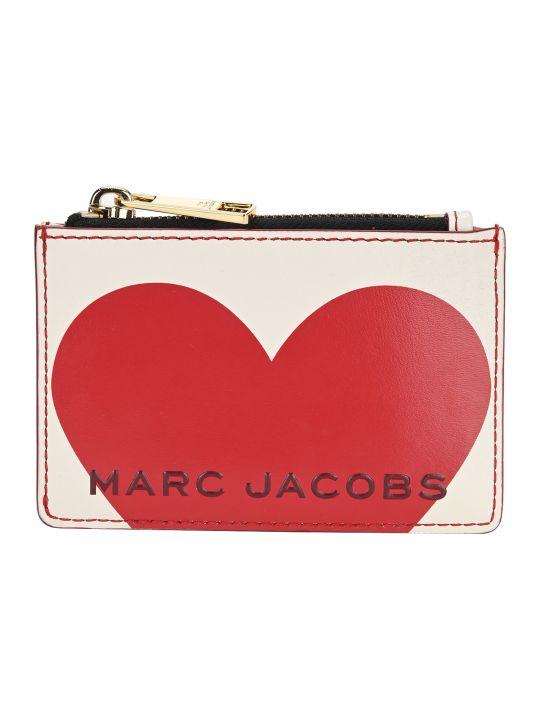 Marc Jacobs The Heart Box Top Zip Multi Wallet