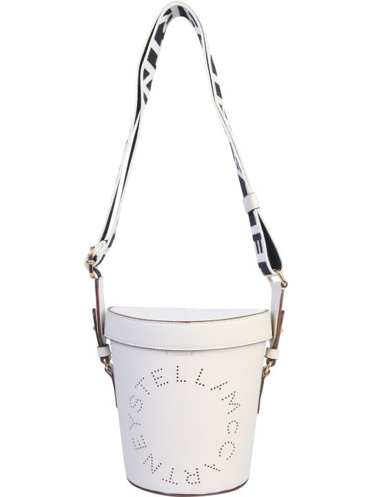 Stella McCartney Bucket Bag With Logo