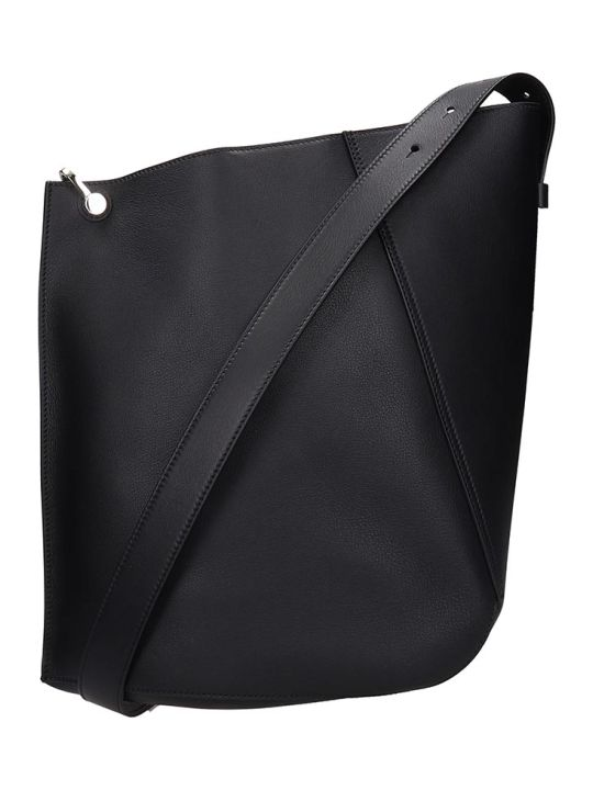 Lanvin Tote In Black Leather