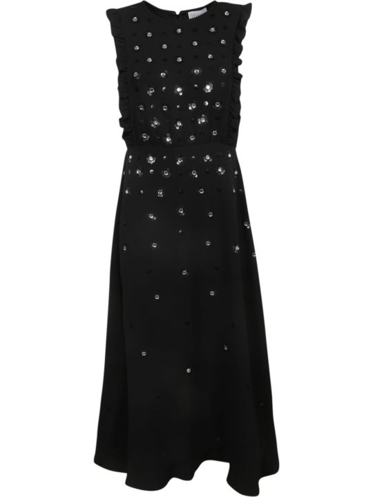 RED Valentino Sequined Maxi Dress
