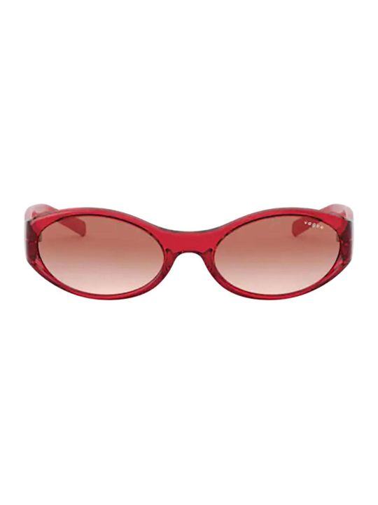 Vogue Eyewear Vogue Vo5315s Transparent Red Sunglasses