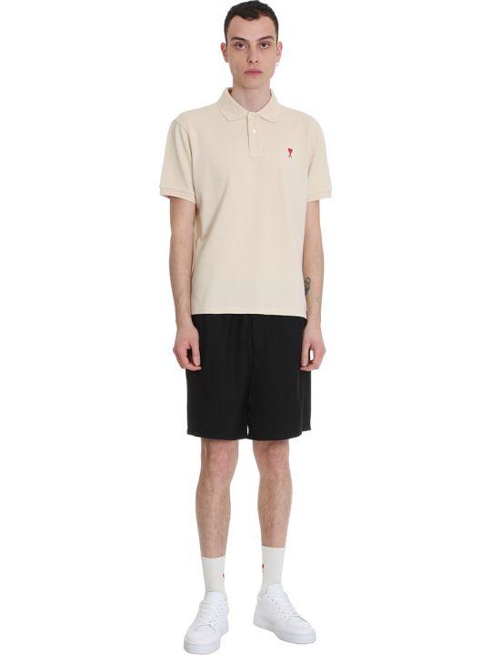 Ami Alexandre Mattiussi Shorts In Black Polyester