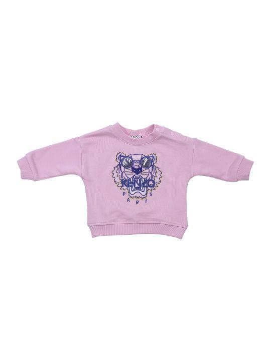 Kenzo Pink Cotton Sweatshirt