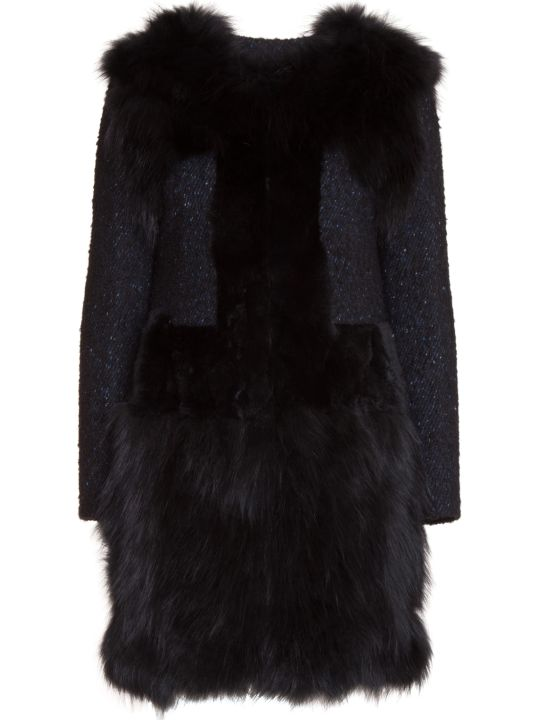Bully Fur Applique Coat