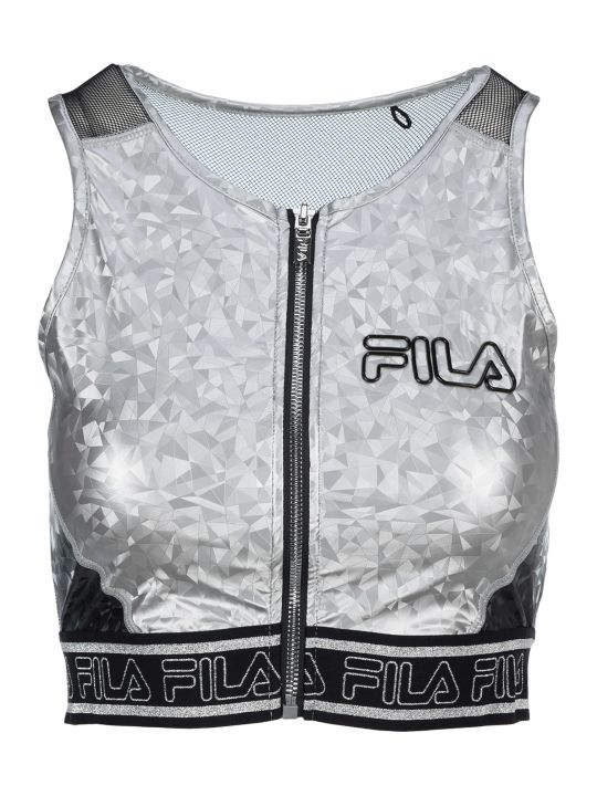 Fila Geometric Print Sports Bra
