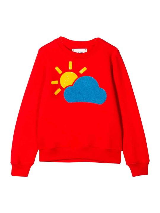 Alberta Ferretti Teen Red Sweatshirt