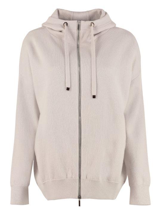 'S Max Mara Jersey Hooded Sweatshirt