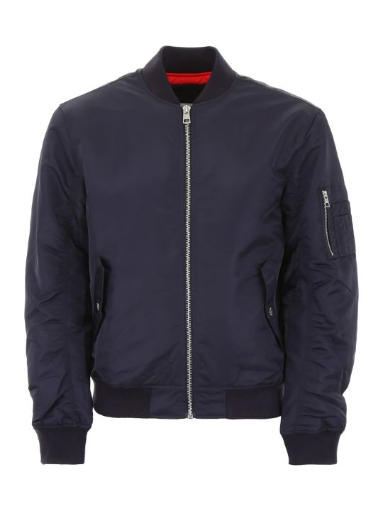 Calvin Klein Jeans Bomber Jacket With Embroidered Logo