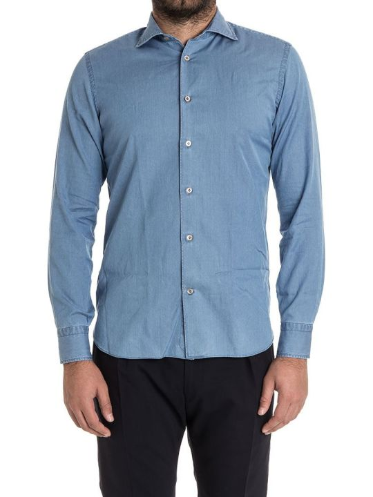 Borriello Napoli Borriello Shirt Denim Cotton