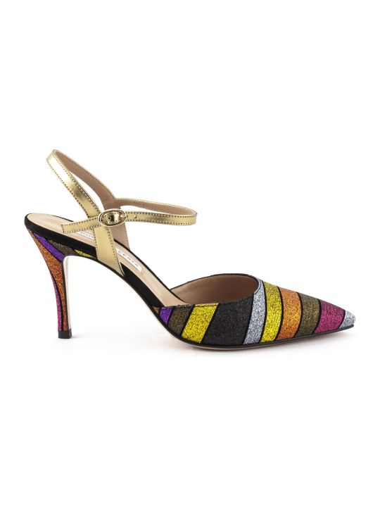 Roberto Festa Marte Pump In Multicolor Glitter