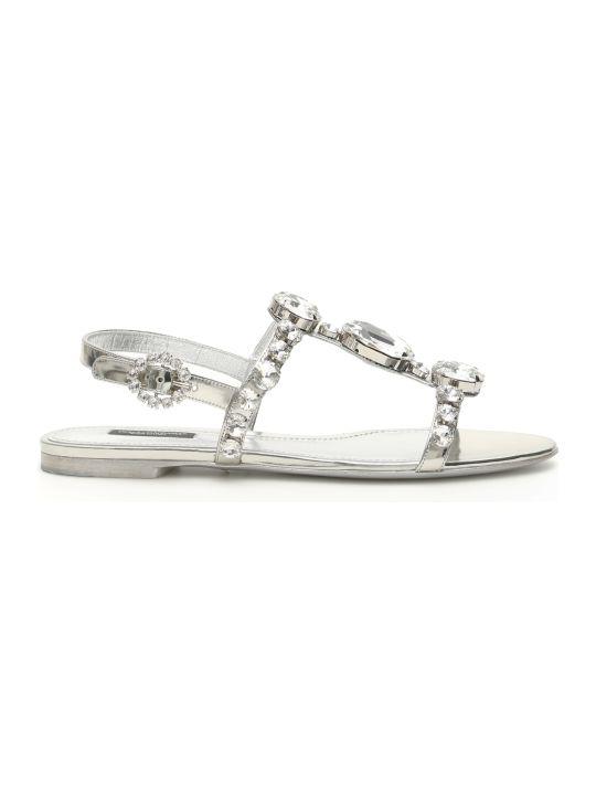 Dolce & Gabbana Crystal Sandals