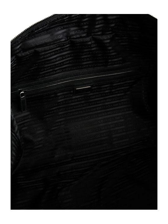 40e0cd7a7c3b Prada Prada Saffiano Panel Holdall - Nero - 10649451 | italist