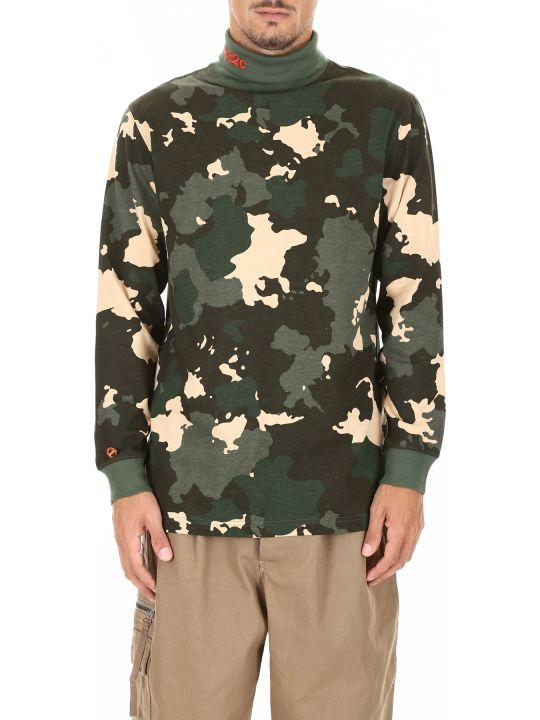032c Camouflage Long-sleeved T-shirt