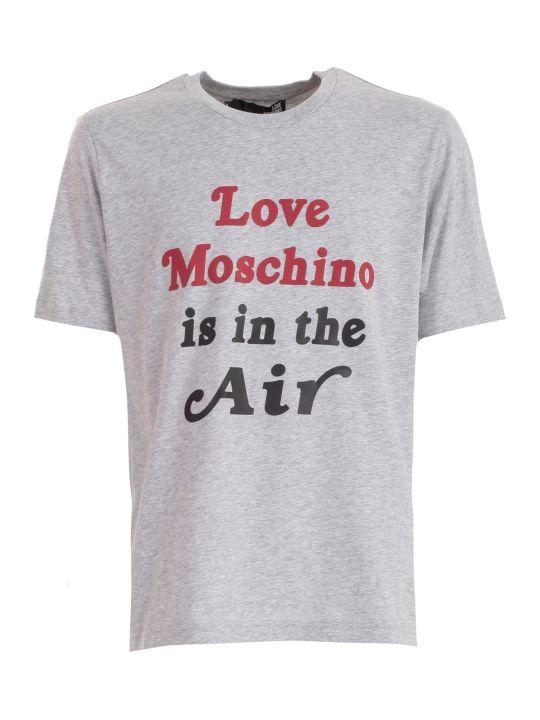 Love Moschino T-shirt S/s W/written