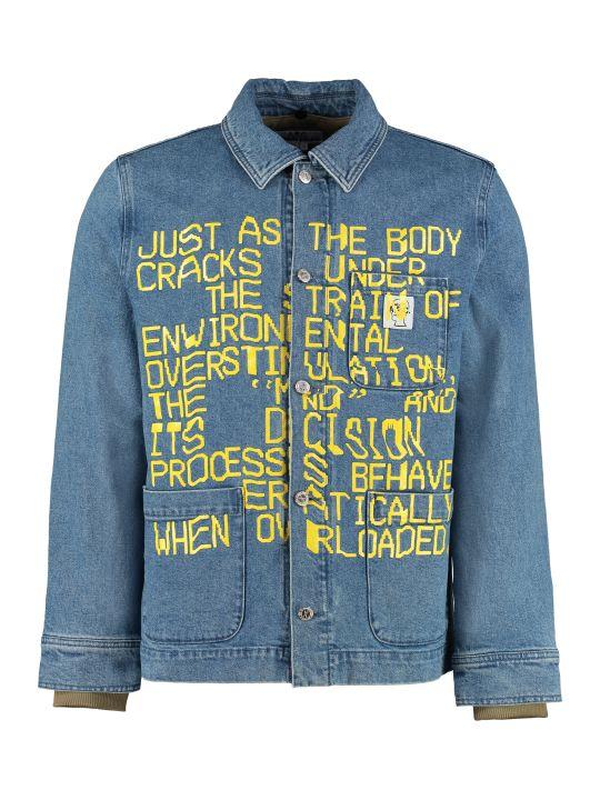 A.P.C. Coddy A.p.c. X Brain Dead Denim Jacket