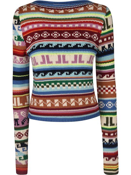 Lanvin Abstract Knit Jumper