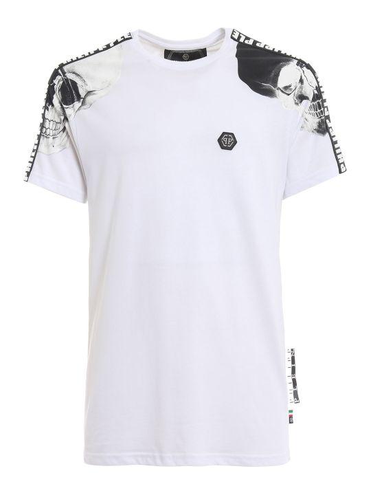 Philipp Plein Contrast Sleeve T-shirt