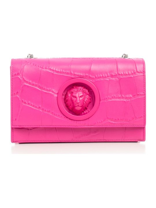 Versus Versace Lion Embossed Shoulder Bag