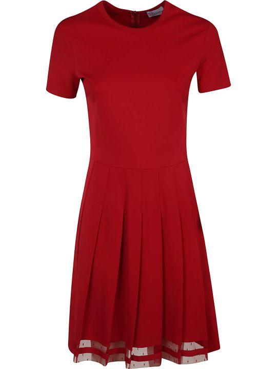 RED Valentino Short Sleeved Dress
