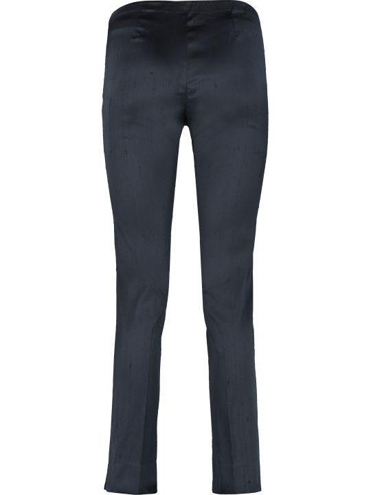 Parosh Elasticated Waist Silk Trousers