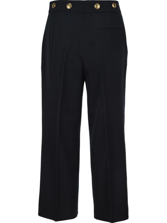 Givenchy 4g Button Cropped Pants