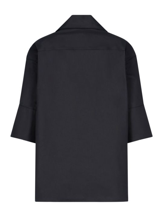 Jil Sander Flared Polo Shirt