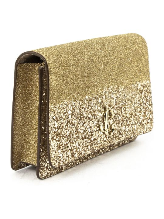 Jimmy Choo Palace Mini Bag In Gold
